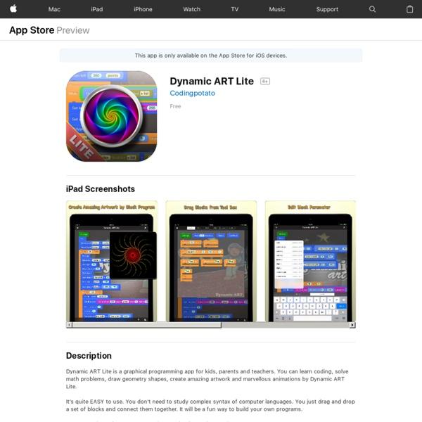 Dynamic ART Lite - Graphical Programming for Kids
