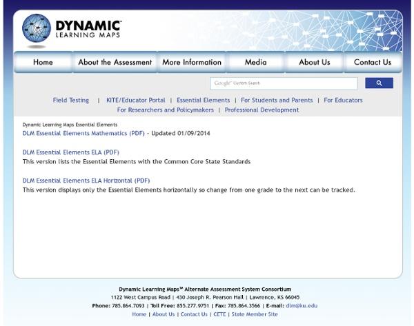 Dynamic Learning Maps™