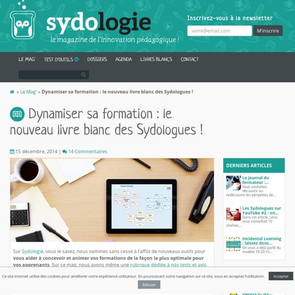 Dynamiser sa formation : le nouveau livre blanc des Sydologues !