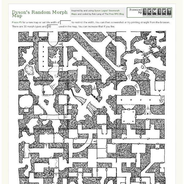 Dyson's Random Morph Map