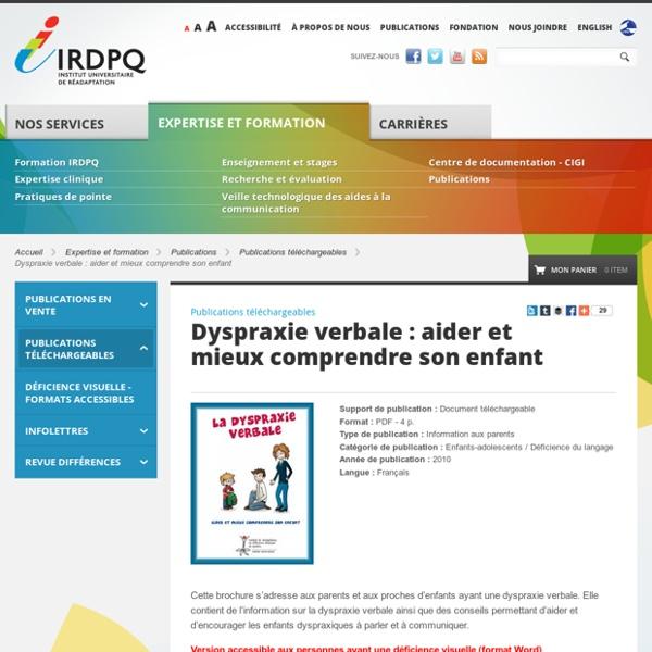 Dyspraxie verbale : aider et mieux comprendre son enfant