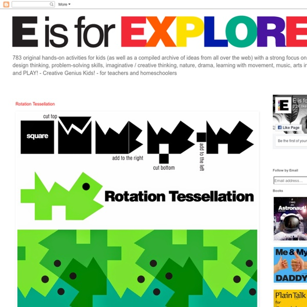 E is for Explore!