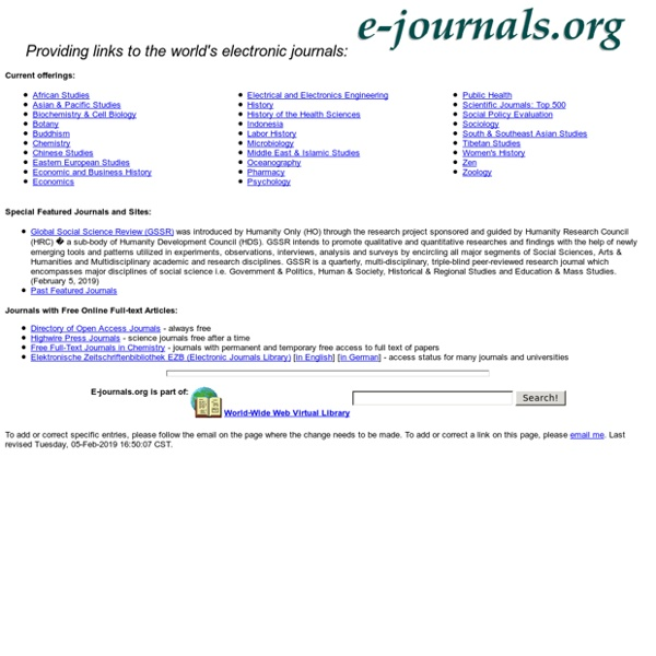 E-Journals.Org