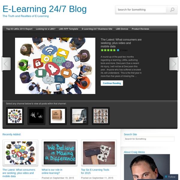 E-Learning 24/7 Blog