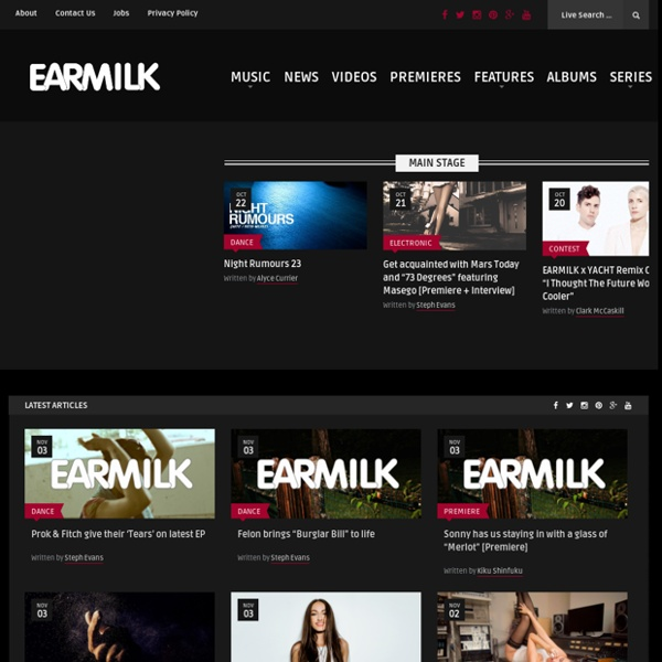 EARMILK.COM - All Milk. No Duds.