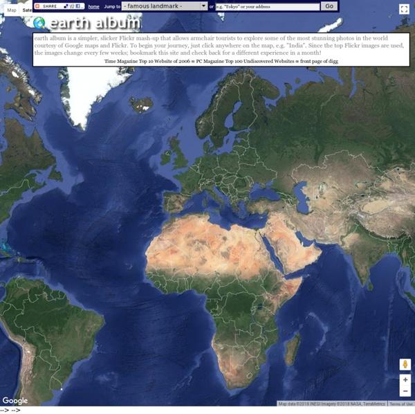 Mapa Mundial de Fotos - imagenes