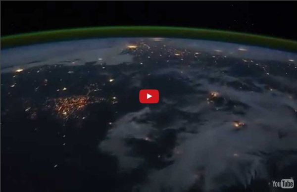Time Lapse View from Space, Fly Over