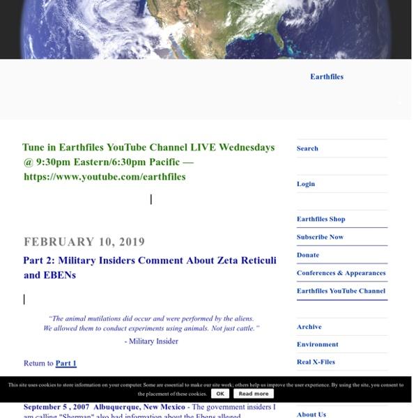 Earthfiles.com Headline News