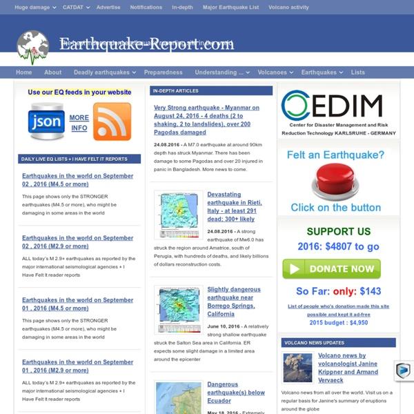 Earthquake-Report.com
