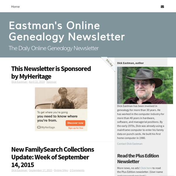 Eastman's Online Genealogy
