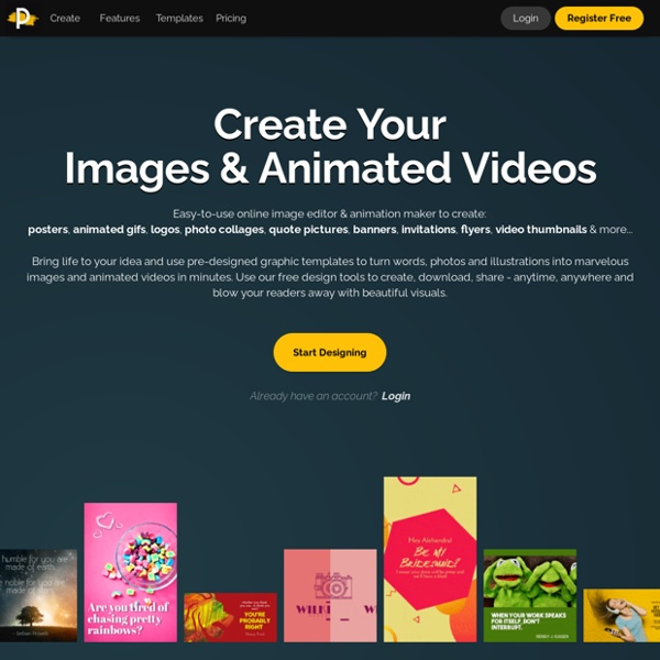 Make Your Own Graphics on PixTeller