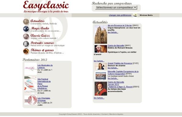 La musique classique à la portée de tous