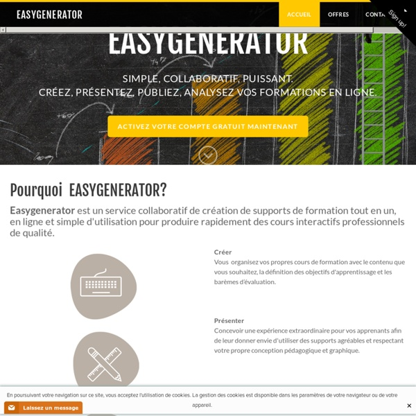 Easygenerator - Accueil Easy Learning