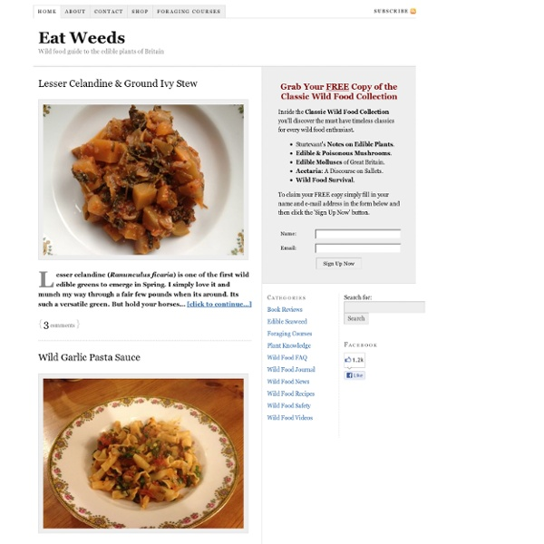 Eatweeds Wild Food Forager's Guide