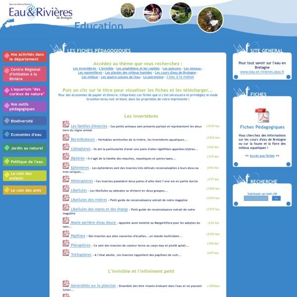 Eau et Rivières de Bretagne - Educatif