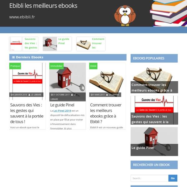 Ebibli.fr : trouvez tous vos ebooks gratuits
