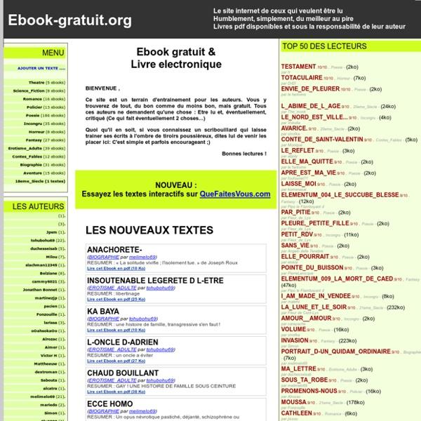 Ebook-fr.com- livre electronique gratuit