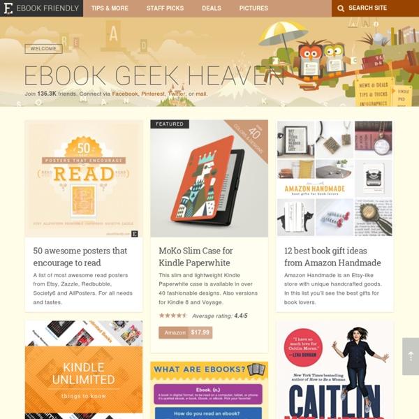 Ebook Friendly - ebook geek heaven