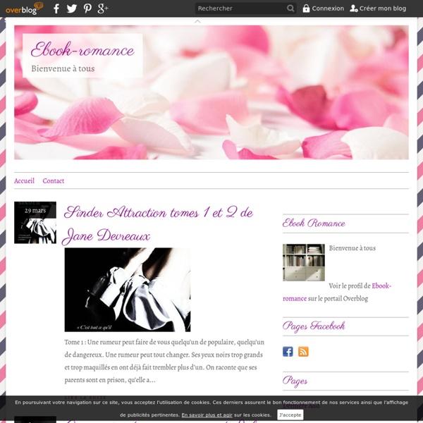 Ebook-romance - Bienvenue à tous. Vous trouverez sur ce blog des Ebooks de romance en format Epub et PDF. N'hésitez pas à donner votre avis sur les livres. Bonne visite et bonne lecture ;)