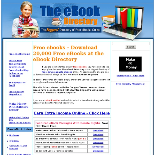 The Ebook Directory - Download 20,000 ebooks