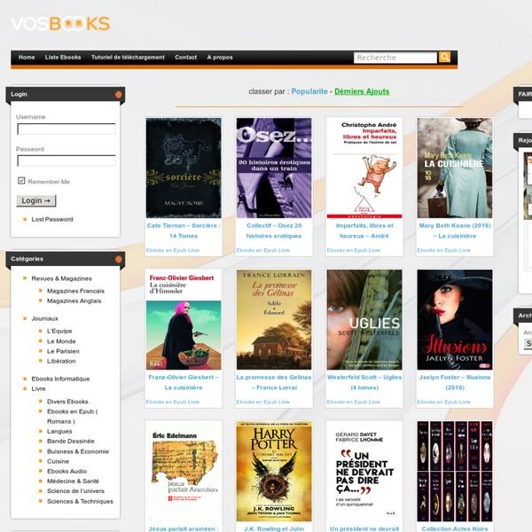 Ebooks en Epub Ebook Gratuit