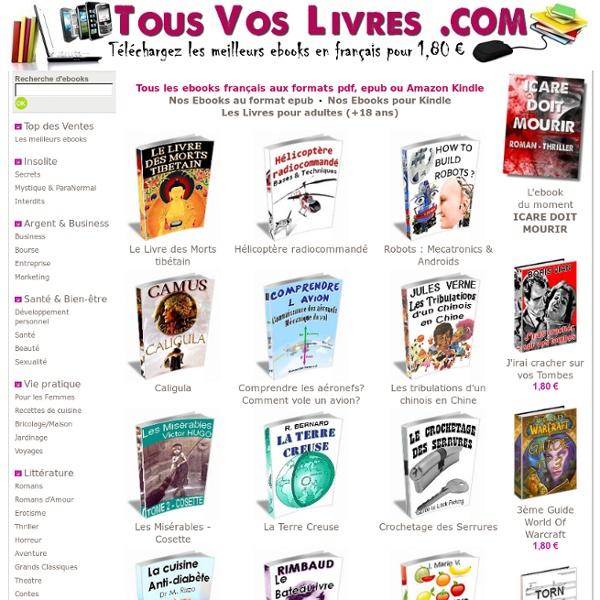 EBOOKS FRANCAIS - PDF & EPUB GRATUITS à télécharger