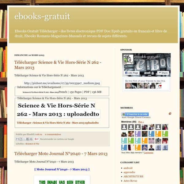 Telecharger Ebooks Gratuit