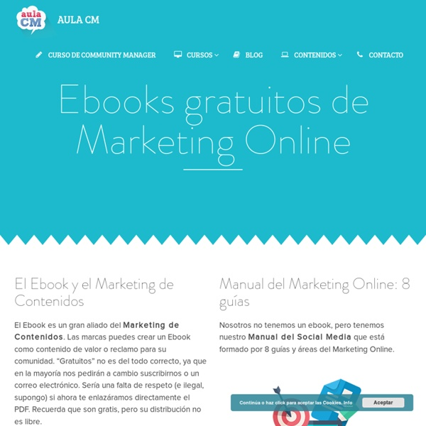 50 Ebooks gratuitos de Marketing Online y Social Media