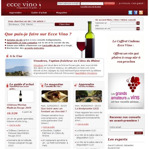 guide des vins sur internet acheter du vin sur internet pearltrees. Black Bedroom Furniture Sets. Home Design Ideas