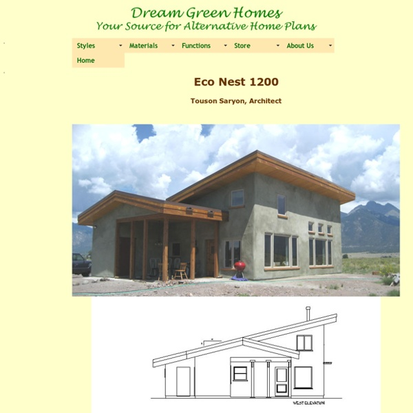 Eco Nest 1200 Plan