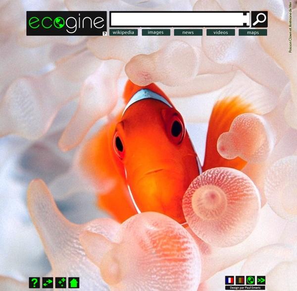 Ecogine.org - Moteur de recherche ecologique