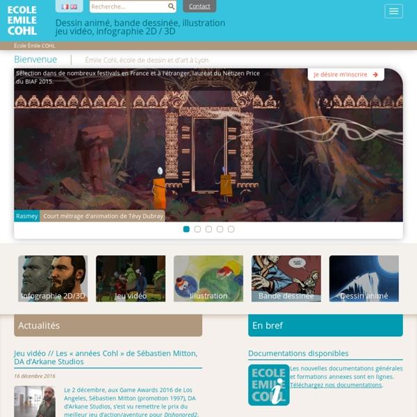Cours de dessin : école d'art Lyon, école de dessin Emile Cohl