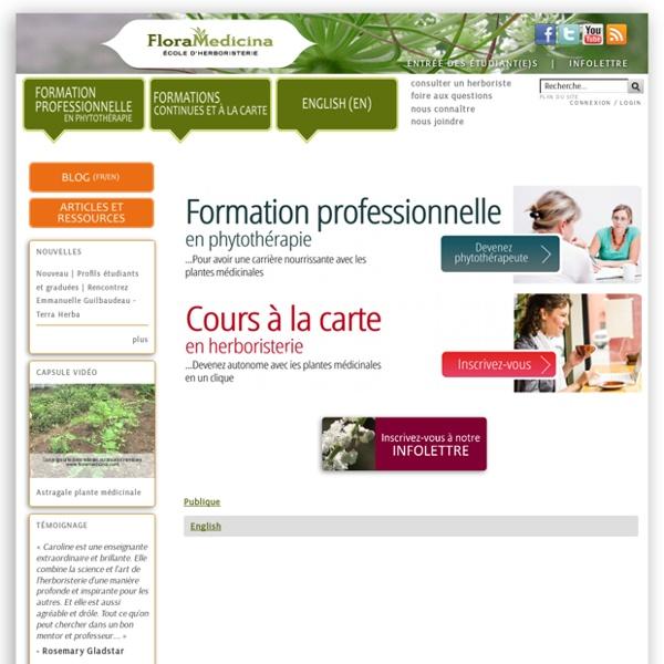 Flora Medicina, école d'herboristerie