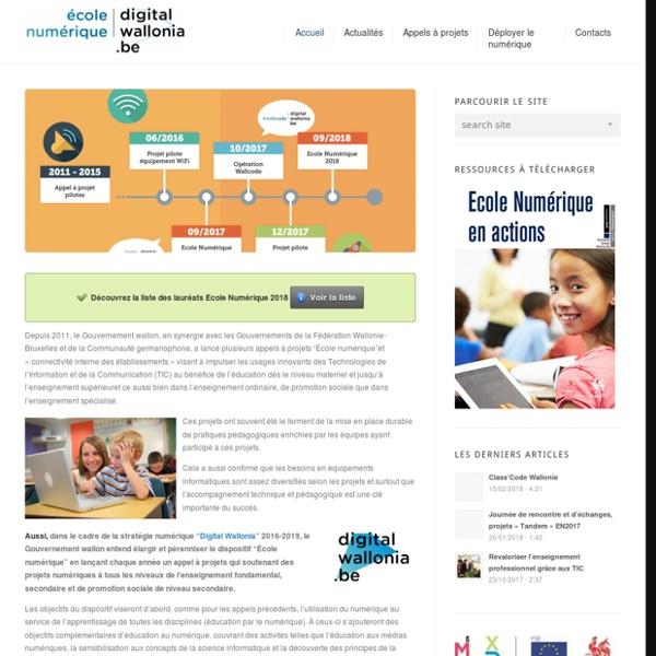 Belgique - Ecole Numérique