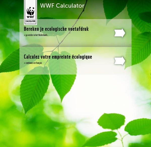 Calculez votre empreinte écologique