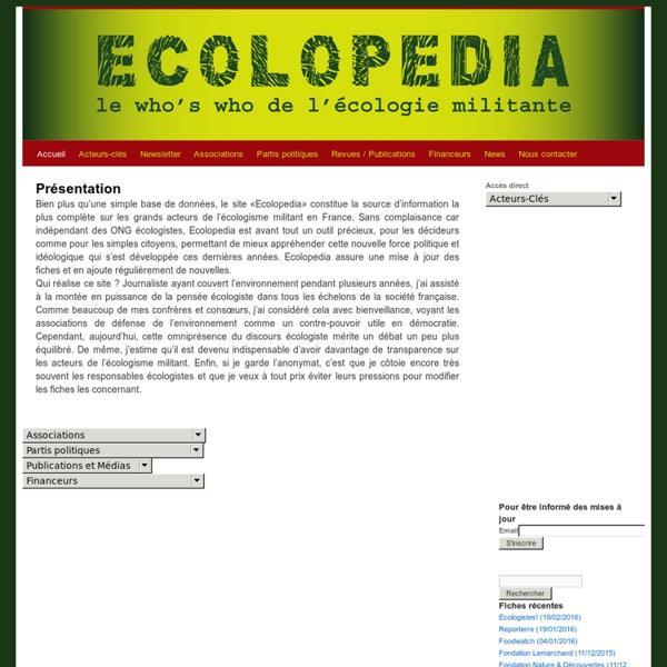 Ecolopedia