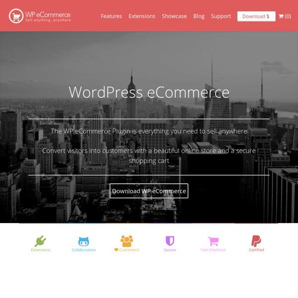 WordPress Ecommerce a WordPress Shopping Cart Plugin - getShopped.org