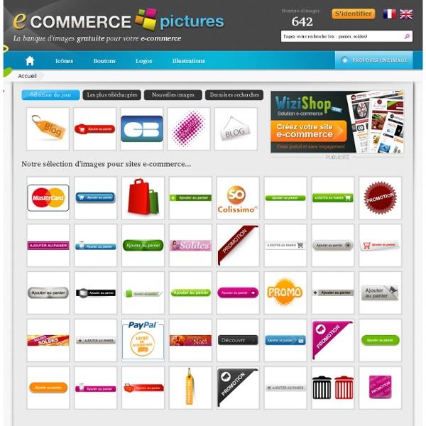 Ecommerce Pictures - Icones, boutons, logos et images gratuites pour le e-commerce