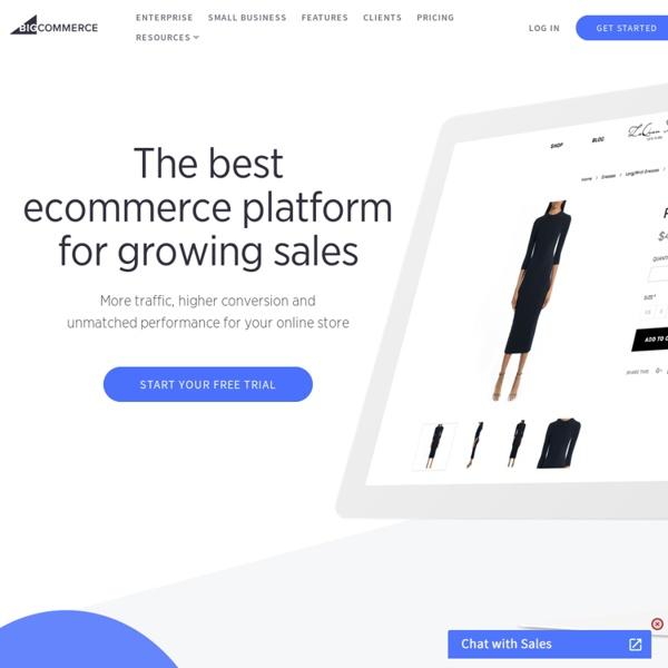 Bigcommerce: Ecommerce Platform & Shopping Cart Software