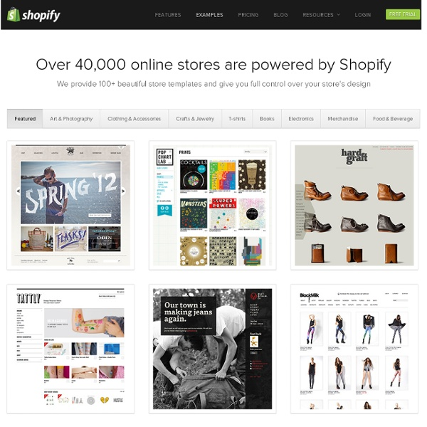 Ecommerce Templates Online Store Template Examples Shopify - Shopify store templates
