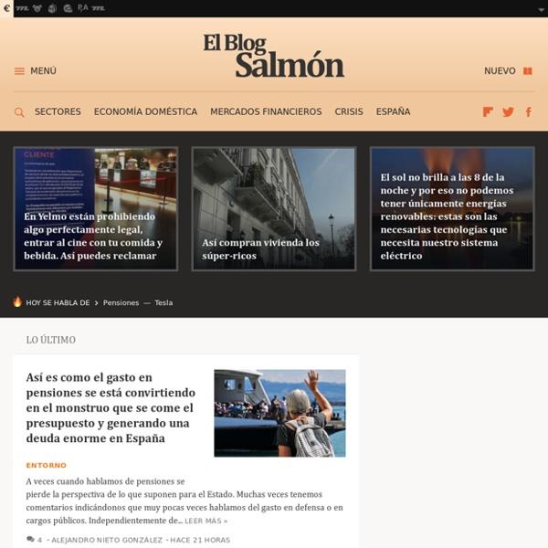 Economía y empresas. El blog Salmón