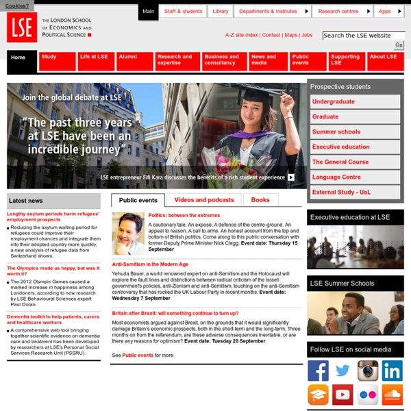 LSE - London School of Economics and Political Science