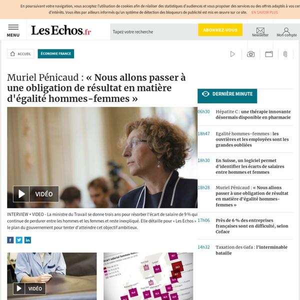 Economie France - L'actualité économique sur Les Echos.fr