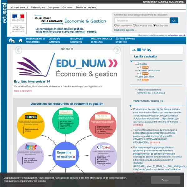 ÉcoGest — éduscol, le site des professionnels de l'éducation