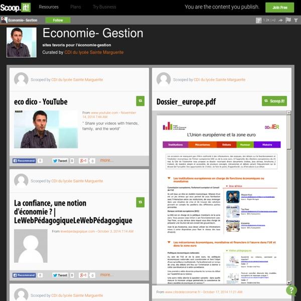 Economie- Gestion