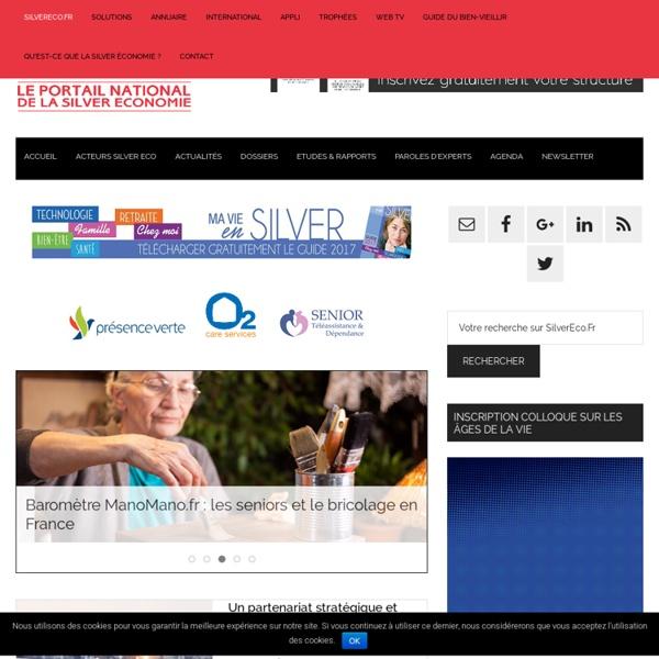 Silver Economie France: Actus, produits & services du Bien-Vieillir — SilverEco