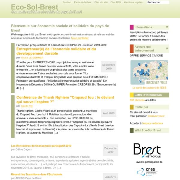 Brest économie sociale et solidaire