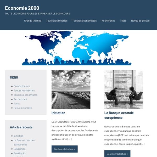 ECONOMIE2000 – Comprendre et agir