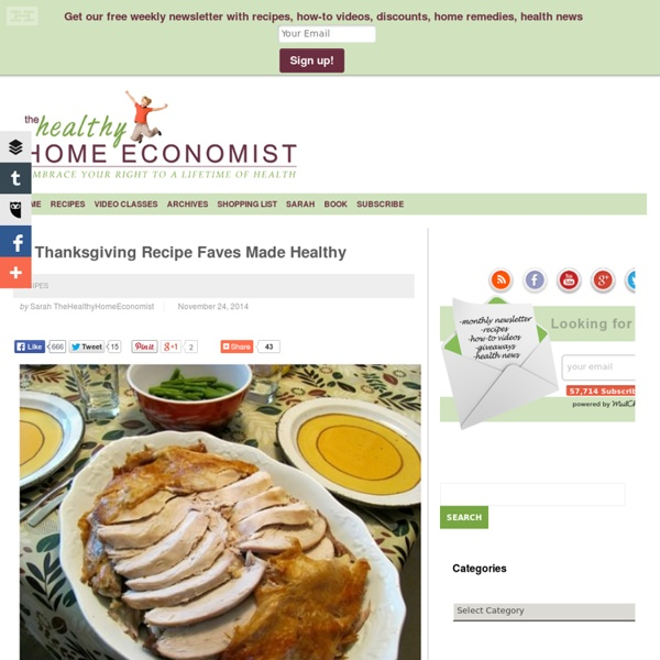 Healthy Home Economist — A Real Food and Wellness Blog