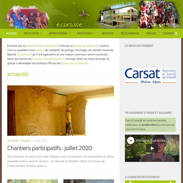 Habitat groupé Ecoravie : Projet de création d'un écolieu à Dieulefit dans la Drôme (26)